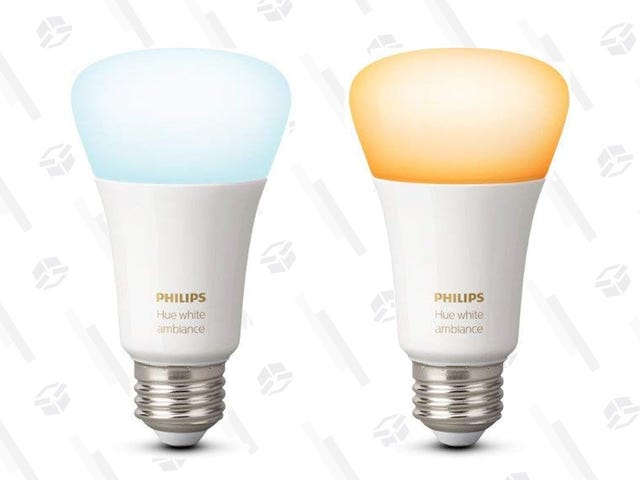 Skip the Colors and Save $6 On Philips' Hue White Ambiance Smart Bulb
