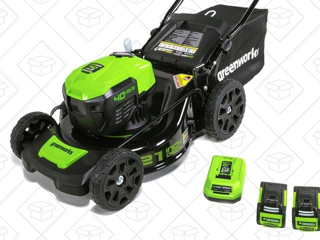 Get Ready For the Spring With This Terrific Electric Lawnmower Deal