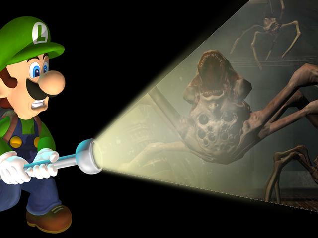 El mejor arma de juego de terror es una linterna