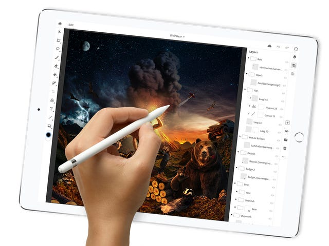 The iPad Is Soon, Finally, Getting a Full Version of Adobe Photoshop