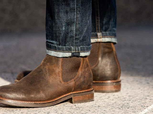 Social Distance In Style With $44 off Rhodes Footwear Chelsea Boots at Huckberry