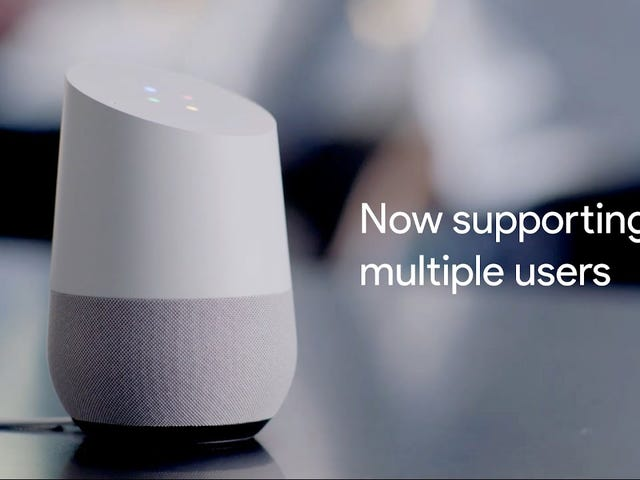 Google Home Now Supports Multiple Users and Can Recognize Your Voice