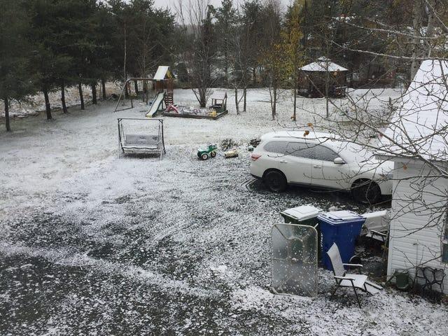 Day 2 still snowing