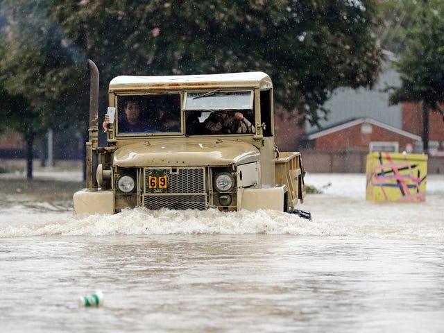 Ураган Харвея Fallout триває з кошмаром повені в районі Х'юстона