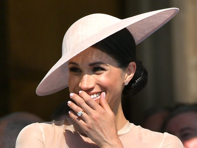 She Got That Glow: Meghan, Duchess of Sussex, Makes Her 1st Public Appearance in Style