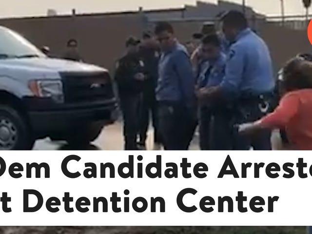 "<a href=""https://splinternews.com/democratic-senate-candidate-arrested-at-immigrant-deten-1827110492"" data-id="""" onClick=""window.ga('send', 'event', 'Permalink page click', 'Permalink page click - post header', 'standard');"">Democratic Senate Candidate Arrested at Immigrant Detention Center</a>"