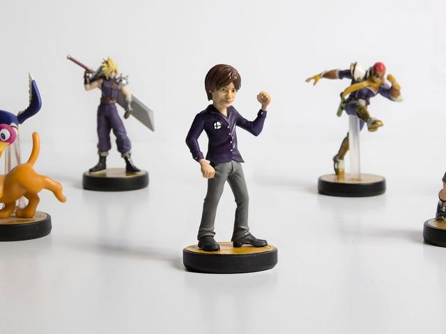 Smash Bros. CreatorMasahiro Sakurai Gets His Own (Unofficial) Amiibo