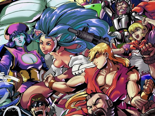 Every Marvel vs Capcom Character, Together At Last