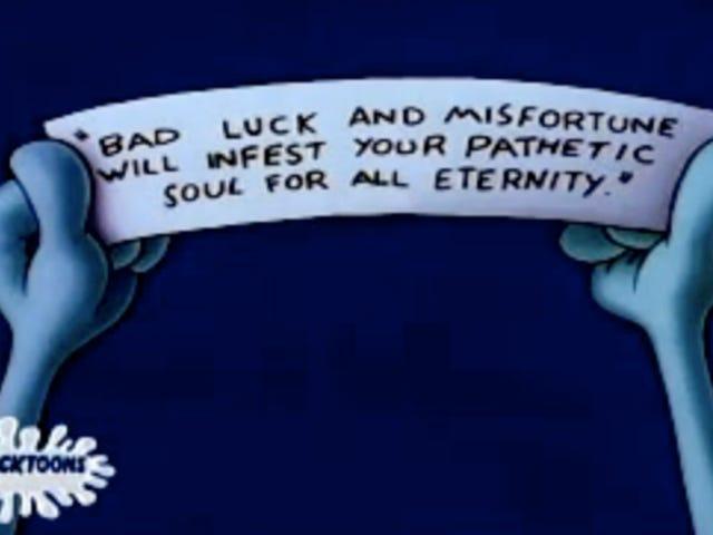 """I'm Mr. Lucky."""