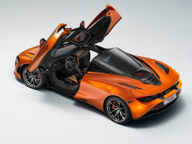That new McLaren seat. Looks familiar.