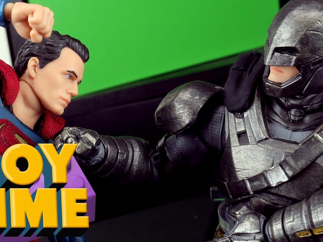 Batman V Superman: When Good Toys Come From Bad Movies