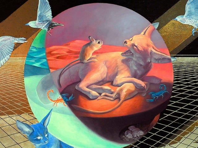 Bu Sanatçı Nesli Tükenmekte Olan Hayvanları Bize Ne İçin Dövüştüğümüzü Hatırlatıyor
