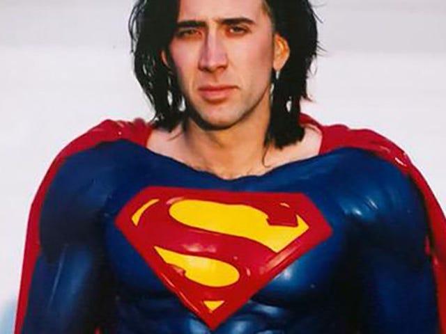 Finalmente Nicholas Cage sí interpretará a Superman en una película, pero no como esperabas