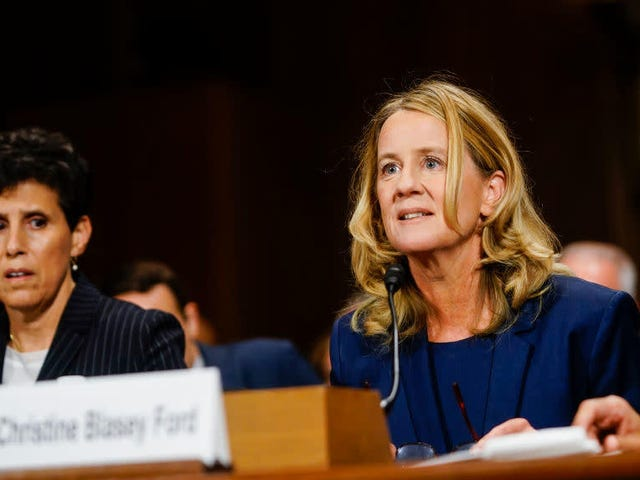 Christine Blasey-Ford's Father Is Reportedly More Interested in Golf Than Supporting His Daughter