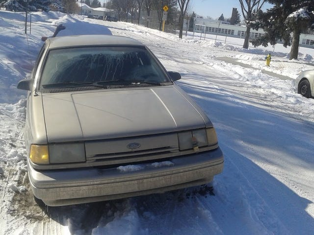 1992 Ford Tempo:  The Oppositelock Review