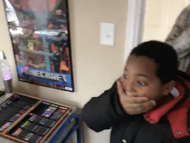Watch: Detroit 8-Year-Old and Mom Receive New Furnishings for Home After Being Homeless