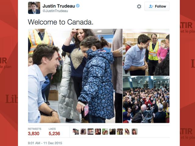 Тем временем в Канаде ...