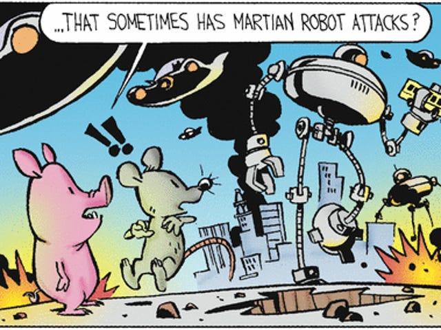Calvin & Hobbes' creator has been secretly drawing this comic strip!