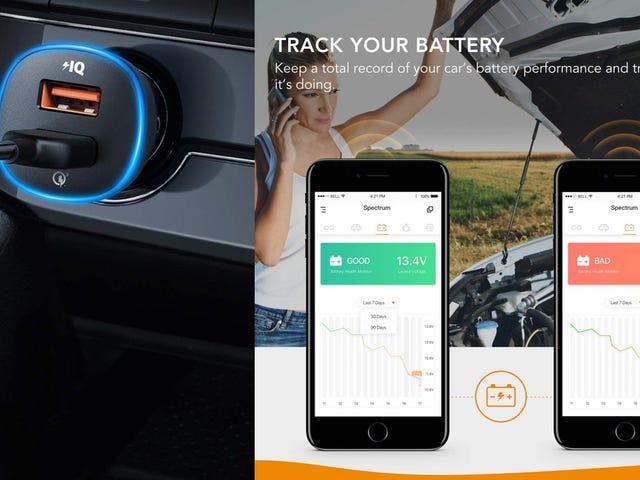Este cargador de $16 de Anker controla la batería de tu coche
