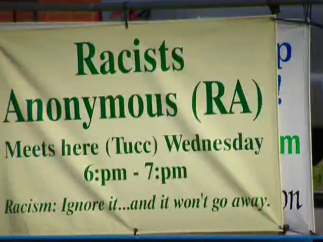 NC教会で人種差別匿名の会合が開催されました