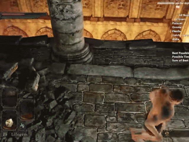 Elnuevorécordmundialen <i>Dark Souls II</i> es unafascinantepelículasobreun zombie letal en calzoncillos