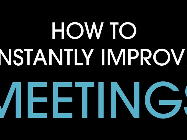 Make Your Meetings More Effective and Efficient by Standing Up