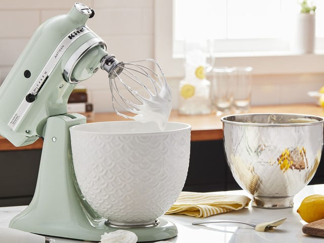 Sorry, your old KitchenAid mixer is super basic