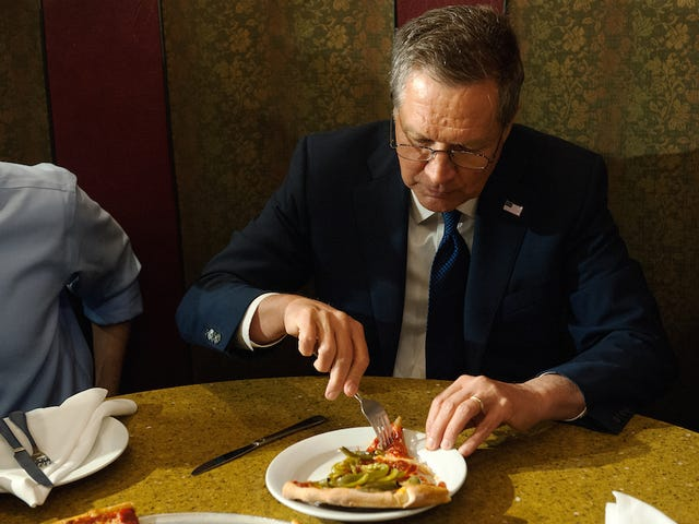 No One Cares How Hot Your Pizza Was, John Kasich
