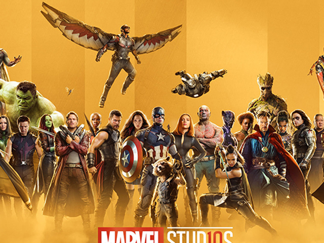Marvel Studios Is Celebrating Its Tenth Anniversary With Some Snazzy Gold Posters