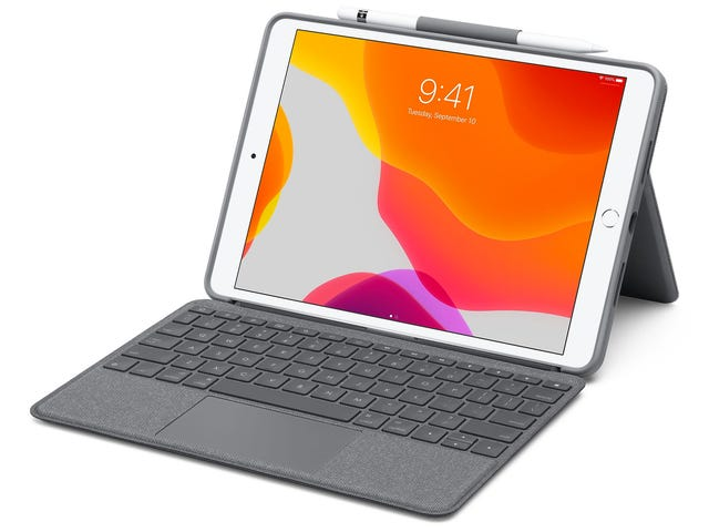 Logitech'in Yeni Klavye Kılıfı, Apple'ın Düşük Maliyetiyle Eski iPad'lere Dokunmatik Yüzey Getiriyor