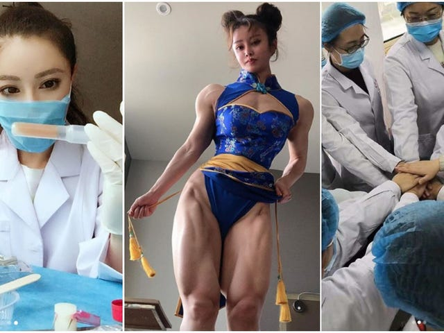 Chun-Li Cosplayer Now Treating Coronavirus Patients