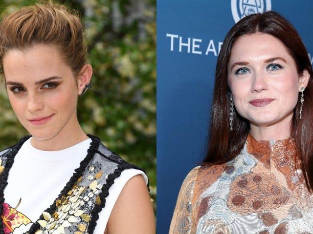 Emma Watson, Bonnie Wright tweet support to trans community since J.K. Rowling won't