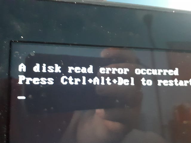 Hard drive crapped out
