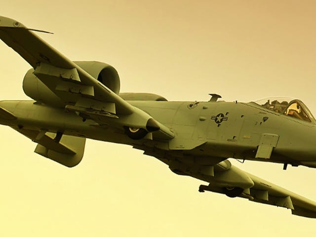 The A-10 Warthog May Be Kept Out Of Retirement By Law
