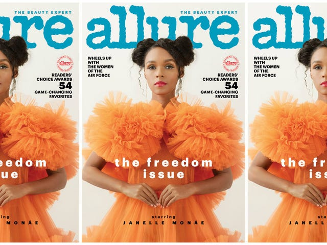 Freedom Over Fear: Janelle Monáe Covers Allure's Freedom Issue