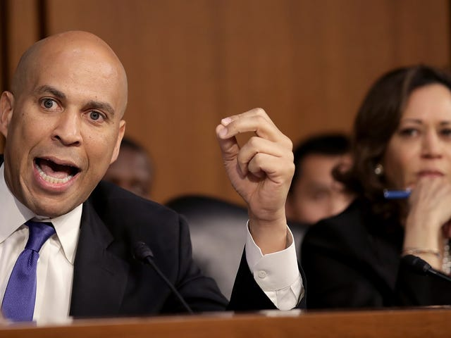 Cory Booker Tells Don Jr.: 'Kamala Harris Doesn't Have Shit to Prove' About Being Black