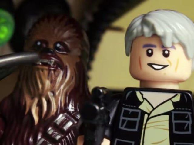 The Force Awakens ट्रेलर्स, लेगोस के साथ फिर से बनाया गया