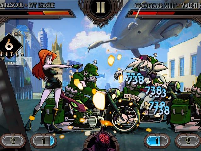 <i>Skullgirls</i> πηγαίνει με κινητό με μια καταπολέμηση RPG Spinoff