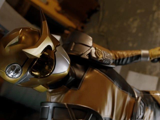 Få din första titt på <i>Power Rangers: Beast Morphers</i> Legendary Gold Ranger