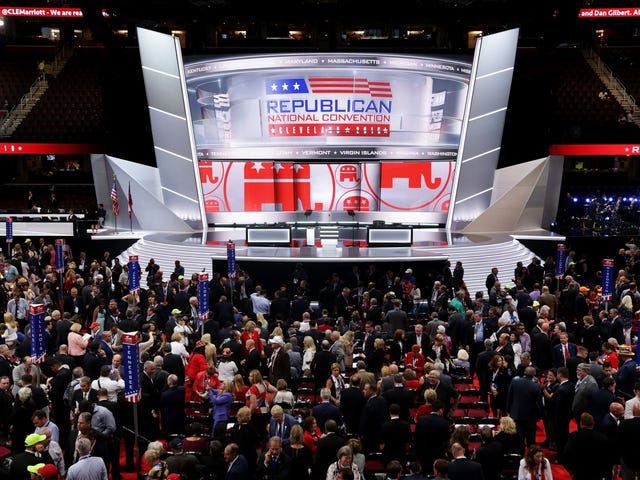 Platform Presidensial Partai Republik 2020 Mengutuk 'Presiden Saat Ini'
