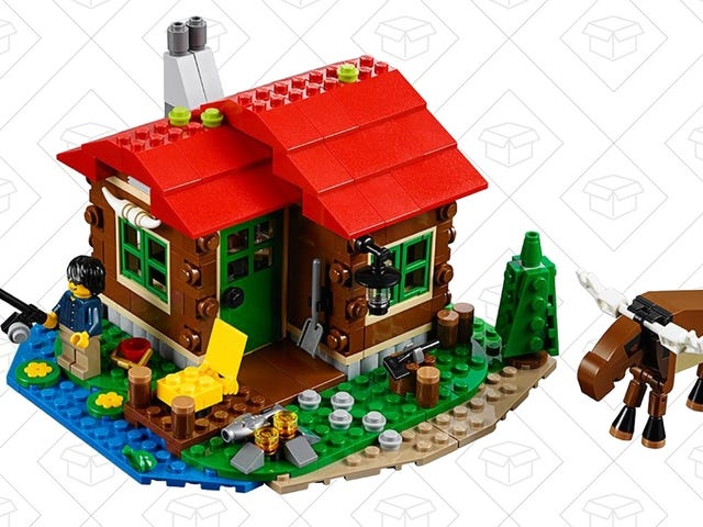 Your Minifigs Will Love Escaping To This $15 LEGO Lakeside Lodge