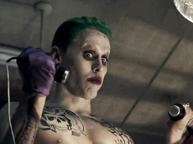 Jared Leto se lamenta de que Warner eliminó la mayoría de escenas del Joker en <i>Suicide Squad</i>