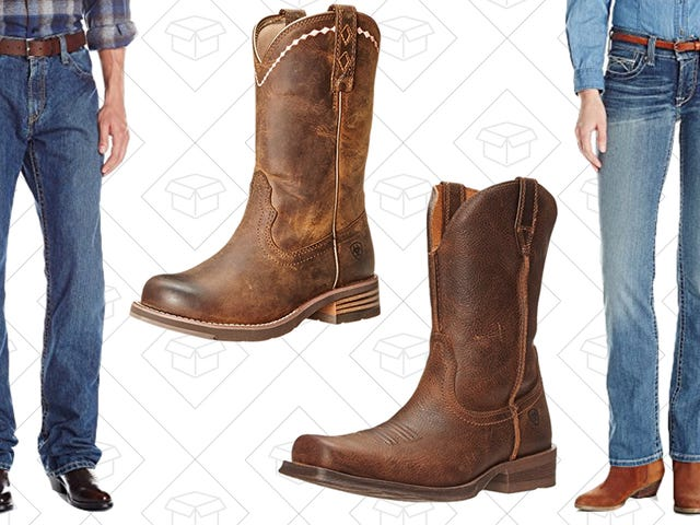 Git Along Little Doggy and Grab Jeans and Boots From This One-Day Ariat Sale