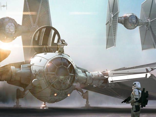 Лос-бокетос на <i>The Force Awakens</i> \ t