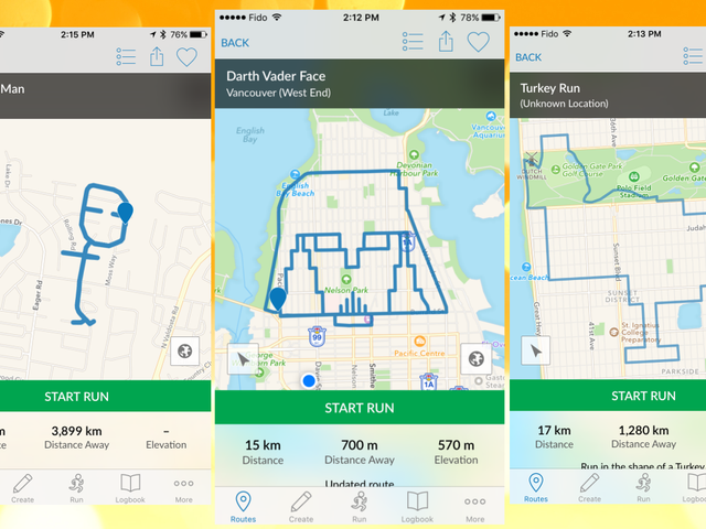 RunGo Gives Turn-By-Turn Directions For Scenic and Creative Jogging Routes