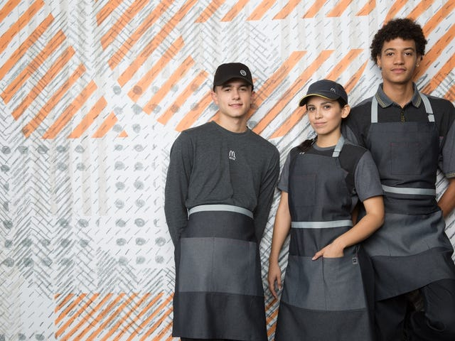 New McDonald's Uniforms Promise to Usher in the Logan's Run Dystopia We've All Been Waiting For