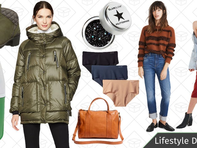 Wednesday's Best Lifestyle Deals: Calvin Klein, Puffer Coats, Merrell Shoes, Madewell, and More