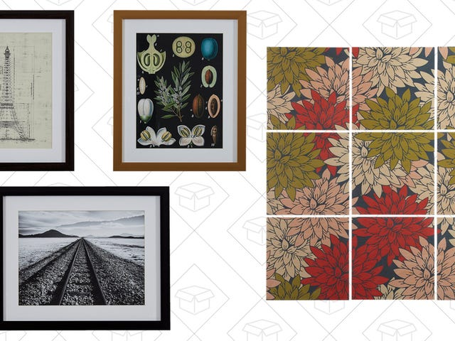 Amazon Makes Some Pretty Decent Wall Art, And It's 20% Off