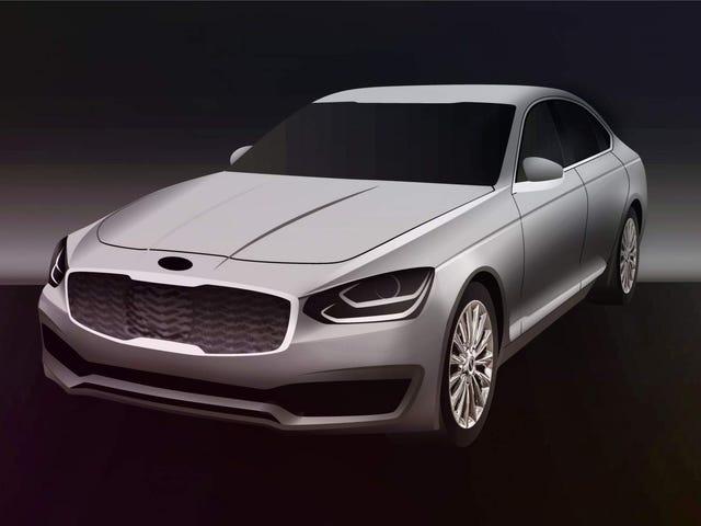 Kia K900 Successor Will Prepare Future Premium Brand