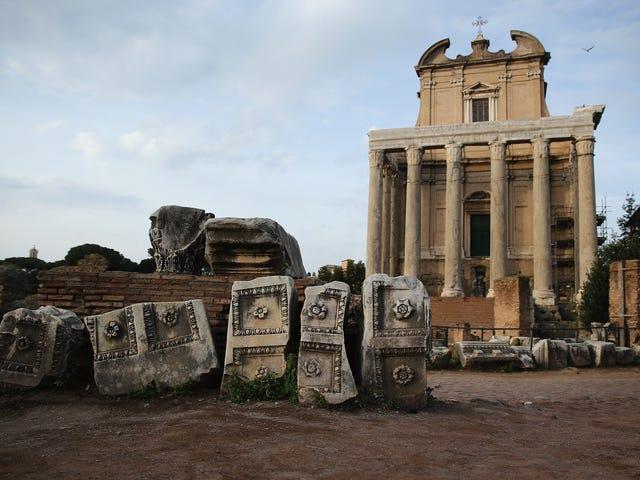 Khí hậu, bệnh dịch hạch, và sự sụp đổ của đế chế La Mã